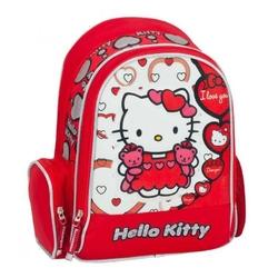 Ghiozdan scoala colectia Hello Kitty 30x38x12 cm