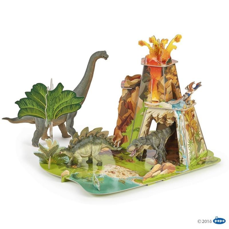 Papo Decor Tinutul dinozaurilor