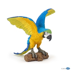 Figurina Papo-Papagal Ara albastru