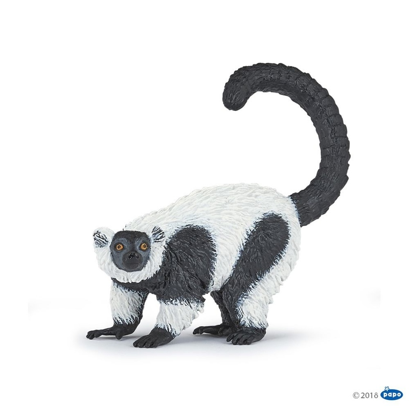 Figurina Papo-Lemur cu guler
