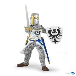 Figurina Papo-Cavaler negru cu sabie