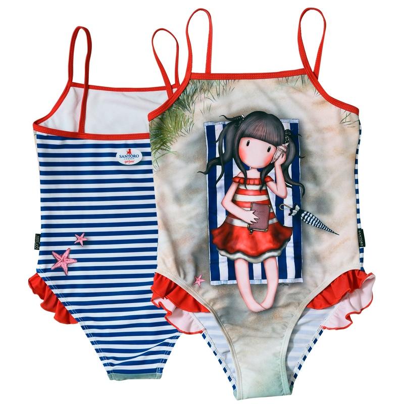 Costum baie intreg Gorjuss-Summer Days