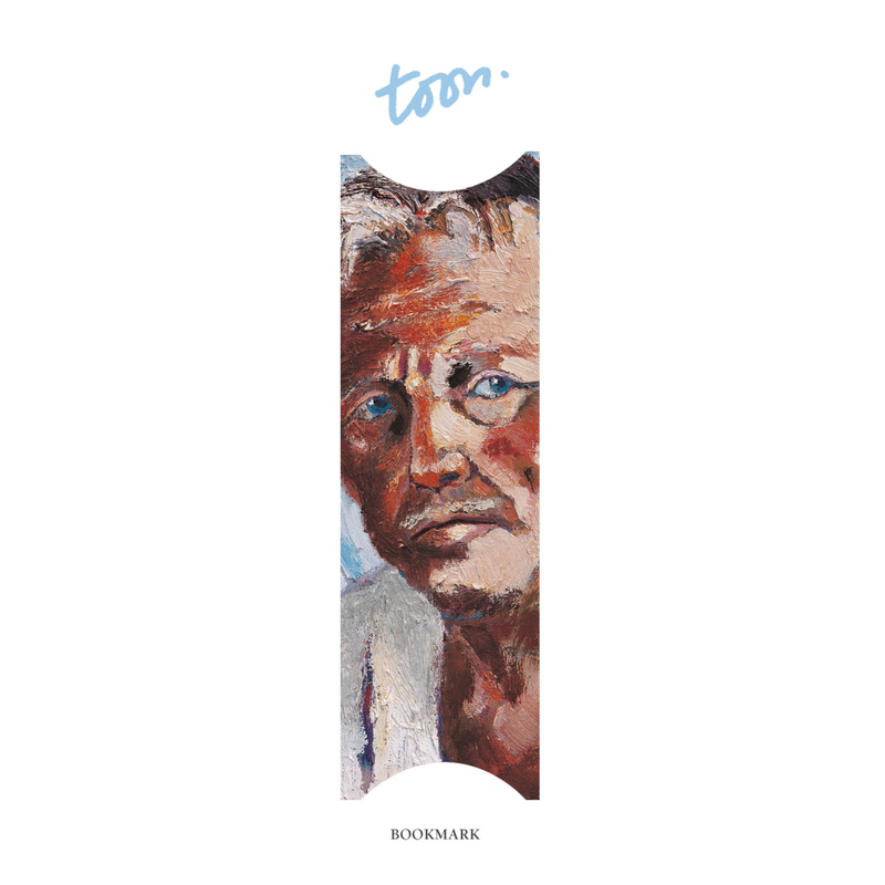 Semn de carte Selfportret-Toon Hermans