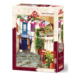 Puzzle 500 piese - COURTYARD