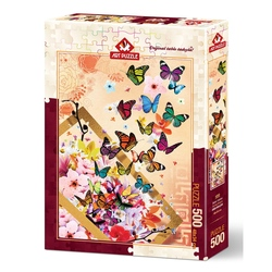 Puzzle 500 piese - SPRING BREEZE