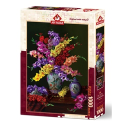 Puzzle 1000 piese - FLOWER AND COLORS