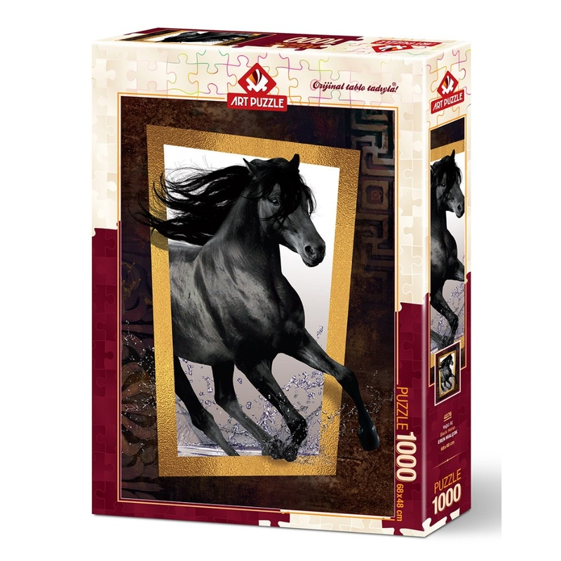 Puzzle 1000 piese - BLACK HORSE