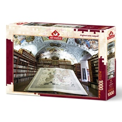 Puzzle 1000 piese - LIBRARY