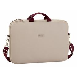 Geanta laptop 15.6 MOOS Capsula beige