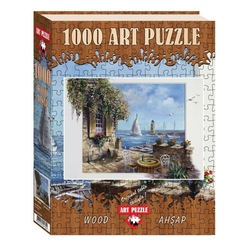 Puzzle 1000 piese - din lemn It Was Here-REINT WITHAAR