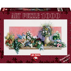 Puzzle 1000 piese - A WORLD OF FLOWERS