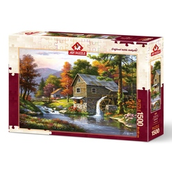 Puzzle 1500 piese - OLD SUTTER S MILL