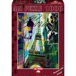 Puzzle 1000 piese - BONJOUR