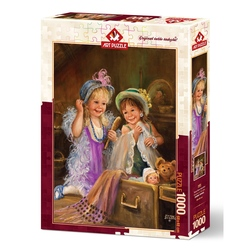 Puzzle 1000 piese - BEAUTIES IN ATTIC