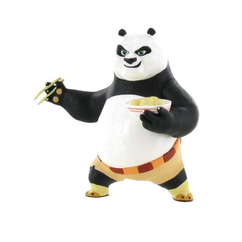 Figurina - Kung Fu Panda- Po 3 -  Eating