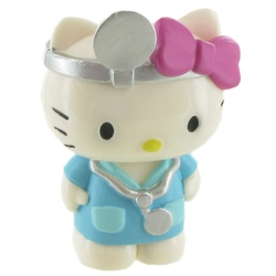 Figurina - Hello Kitty- Doctor