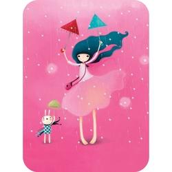 Felicitare Eclectic - Under My Umbrella. O felicitare draguta, perfecta pentru a fi trimisa persoanelor dragi.