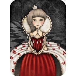 Felicitare Eclectic - The Queen Of Hearts