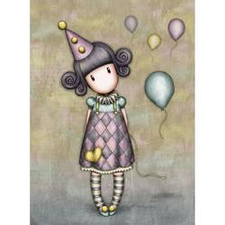 Felicitare Gorjuss - Pierrot Doll