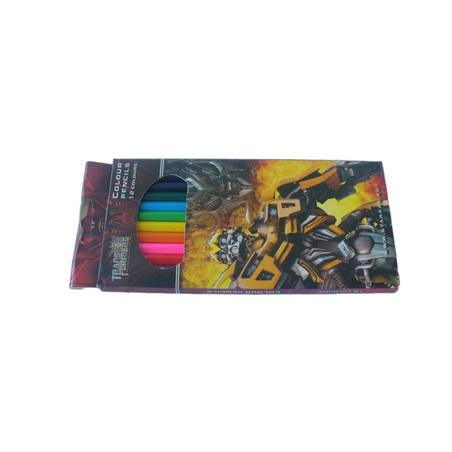Creioane colorate Transformers 12culori/set