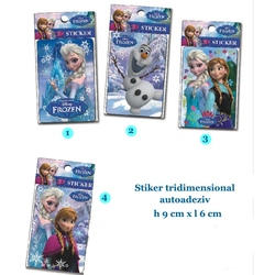 Stickere 3D Frozen
