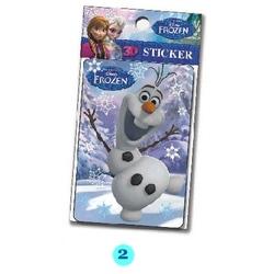 Stickere 3D Frozen Disney - Olaf