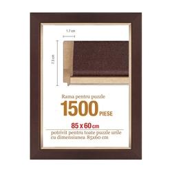 Rama puzzle 1500 p.maron striat-groasa 7.3xh1.7- 85 x 60 cm