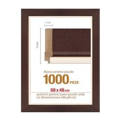 Rama puzzle 1000 p - maron groasa 7.2xh1.7- 68 x 48 cm