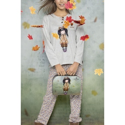 Pijama fete BBC Gorjuss-School Girl