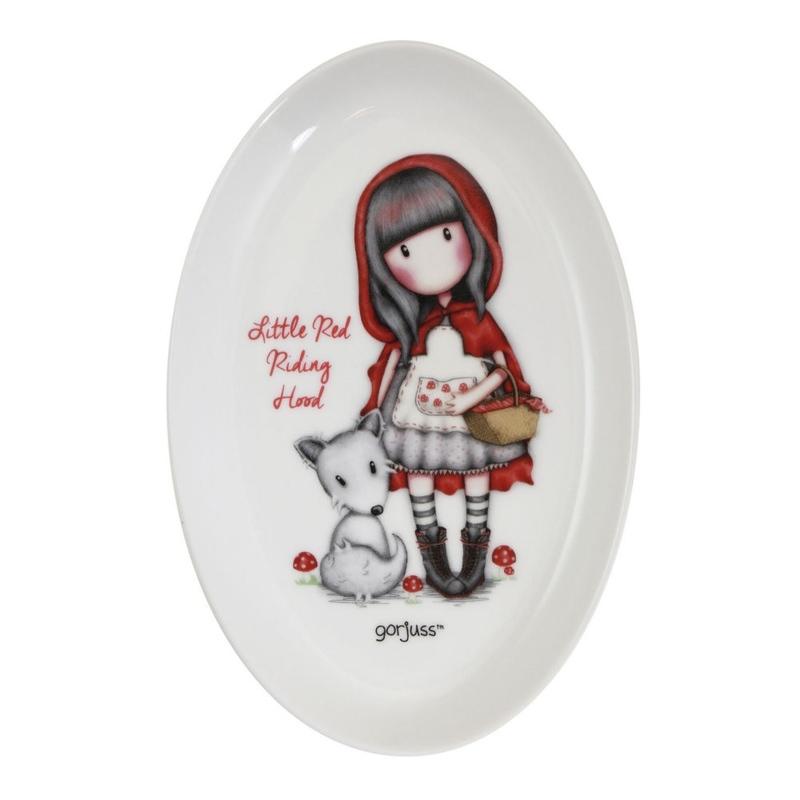 Gorjuss Farfurie ceramica - Little Red Riding Hood