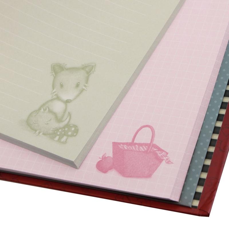 Gorjuss Clipboard cu planificator - Little Red Riding Hood