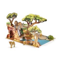 Decor Papo-Set Savana-carton