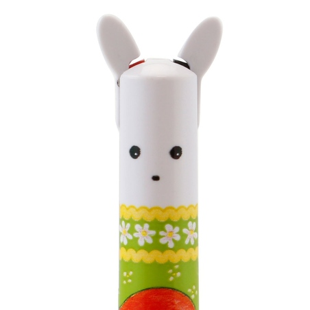 Pix multicolor Poppi Loves - White Bunny