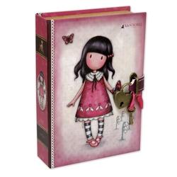 Caseta bijuterii cu lacatel Gorjuss - Jar Of Hearts