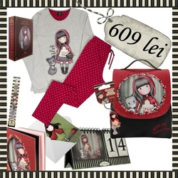 Pachet cadou Santoro Gorjuss Little Red Riding Hood