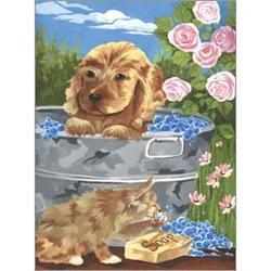 Prima pictura pe nr jr.mic - Prieteni la baie