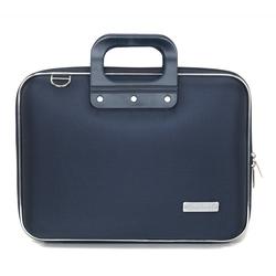 Geanta lux business laptop 13 in Nylon Bombata-Bleumarin