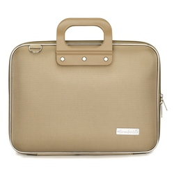 Geanta lux business laptop 13 in Nylon Bombata-Albastru cobalt