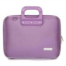 Geanta lux business laptop 13 in Nylon Bombata-Lavanda