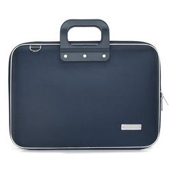 Geanta lux business laptop 15.6 in Clasic nylon Bombata-Bleumarin