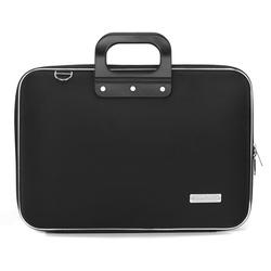 Geanta lux business laptop 15.6 in Clasic nylon Bombata-Negru