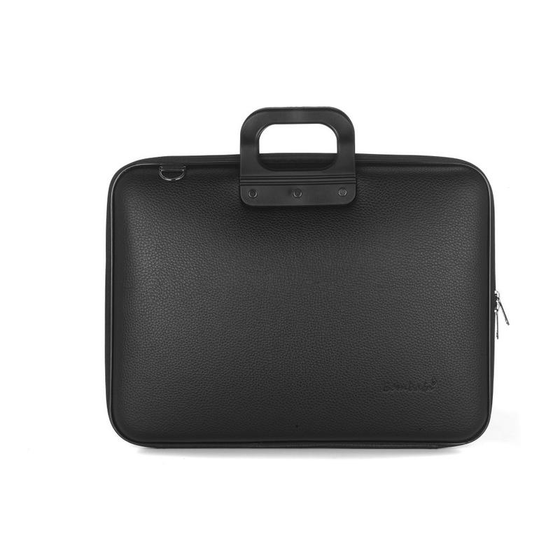 Geanta lux business laptop 17 Maxi Allblack-Negru