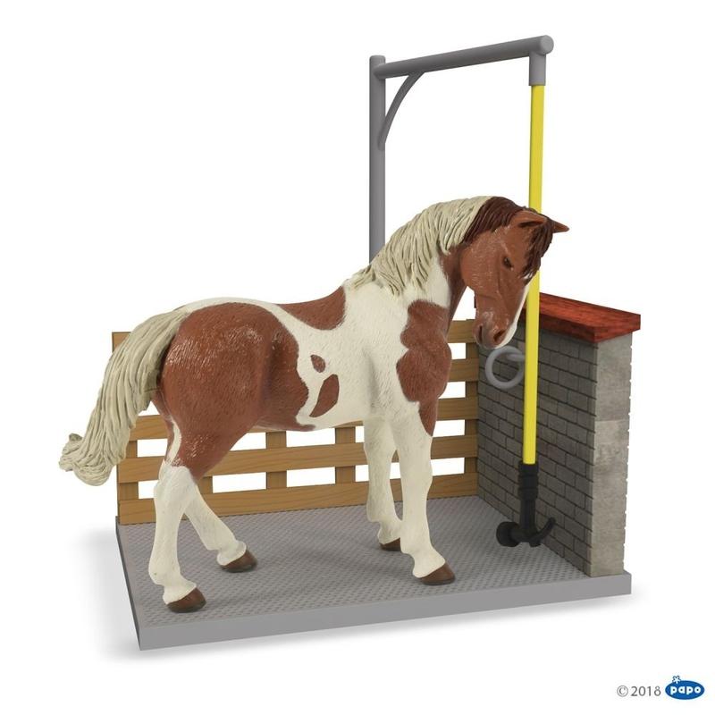 Figurina Papo - Spalatorie cai