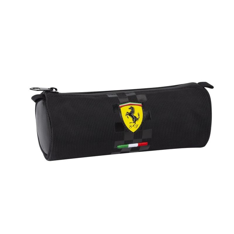 Penar rotund Ferrari negru