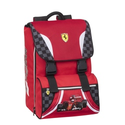 Rucsac extensibil si masinuta Ferrari (logo)