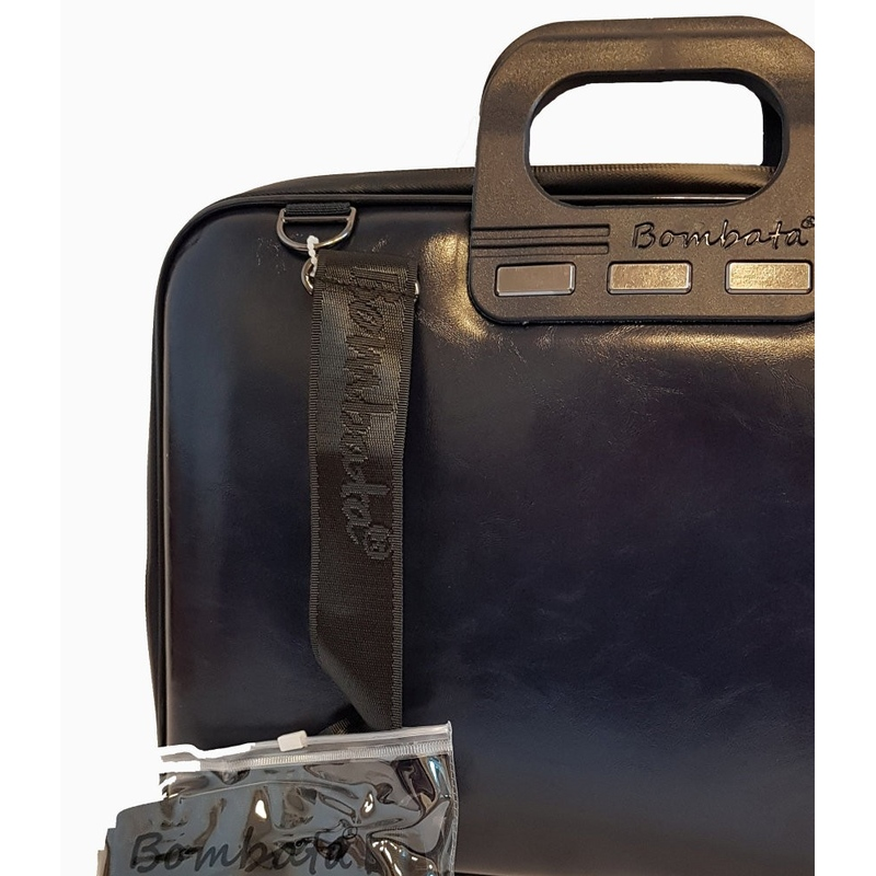 Geanta lux business laptop 15.6 in Evolution-Bleumarin Jad Flamande