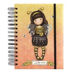 Agenda cu spira Gorjuss Bee Loved