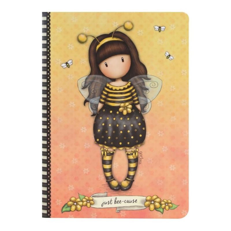 Caiet premium A5 Gorjuss Bee Loved