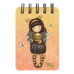 Carnetel cu spira Gorjuss Bee Loved