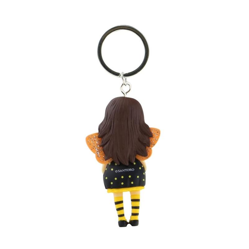 Breloc figurina Gorjuss Bee Loved